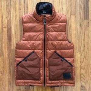 Rust Orange/Camo Coach Vest